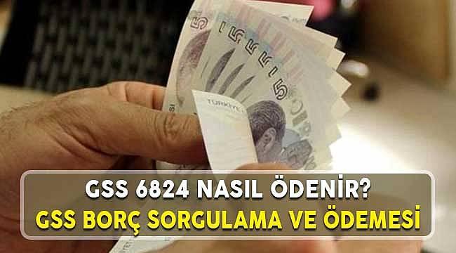 GSS 6824 Sayılı Kanun İle GSS Prim ve Borç Ödeme