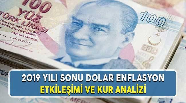 2019 Yılı Sonu Dolar Enflasyon Etkileşimi Değerlendirmesi