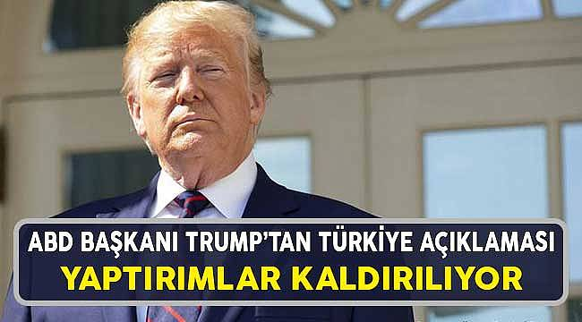 ABD Başkanı Trump'tan Türkiye Yaptırım Açıklaması ve Dolar'a Etkisi