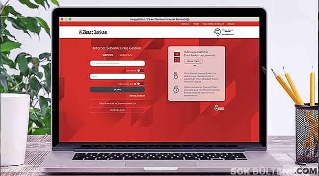 Ziraat Bankası GSS Borç Sorgulama ve Adım Adım İnternetten GSS Prim Borcu Ödeme İşlemleri