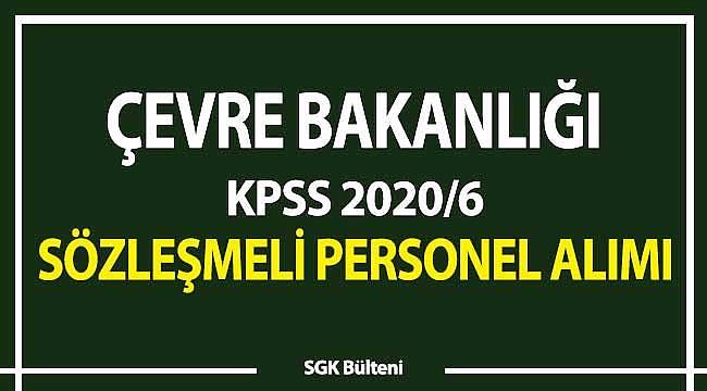 KPSS 2020-6 Çevre Bakanlığı tercihleri: Büro memuru, şehir plancısı, mimar, avukat