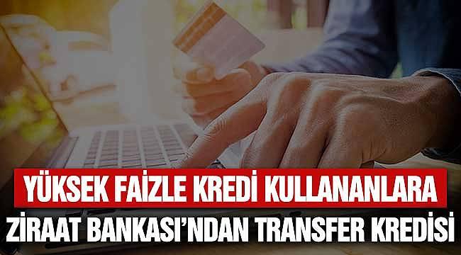 Taşıt Transferi Kredisi Ziraat Bankası'ndan 5 Yıllık Ödeme Planı
