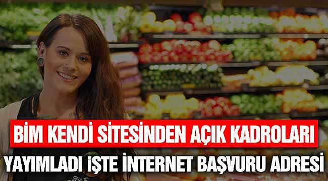 BİM Kendi Sitesinden Yayımlandı! Onlarca Türkiye Geneli Kadroda Personel İşçi Alınıyor