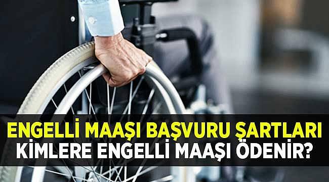 Engelli Maaşı Başvuru Şartları Nelerdir? 2020 Kimler Engelli Maaşı Alabilir?