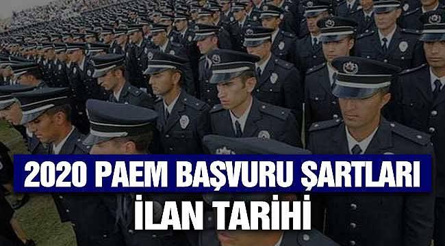 PAEM Polis Alım Şartları Neler? 2020 KPSS, Yaş, Sağlık ve Diğer Şartlar