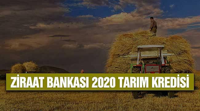 Ziraat Bankası Çiftçi Tarım Kredisi2020 Maliyet ve Ödeme Özellikleri