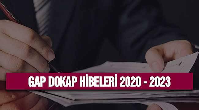 GAP DOKAP Hibeleri 2020-2023