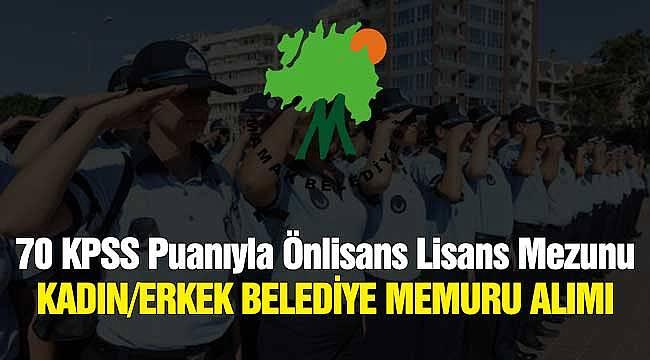 70 KPSS Puanıyla Önlisans Lisans Mezunu Kadın Erkek Belediye Memuru Alımı