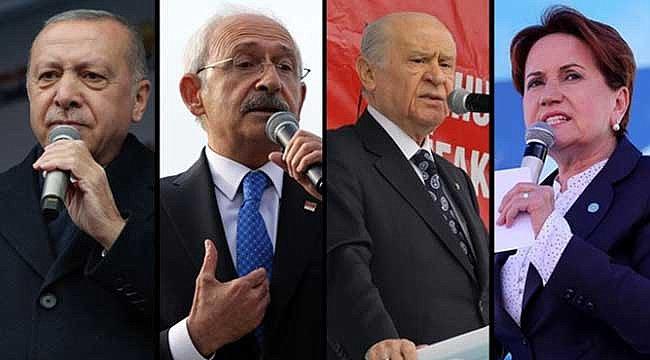2021'in İlk Seçim Anketi! Cumhurbaşkanı Erdoğan, İmamoğlu, Mansur Yavaş