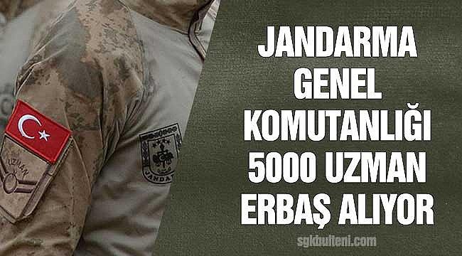Askeri Personel Alımı 2021: Jandarma Lise Mezunu 5000 Uzman Erbaş Alıyor