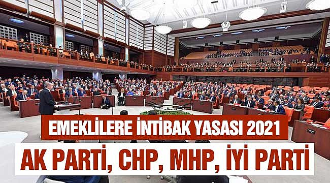 İntibak Yasası 2021: AK Parti, MHP, CHP, İYİ Parti TBMM'ye Gelecek Mi?