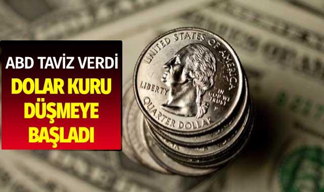 ABD Taviz Verdi Dolar TL Karşısında Düştü! Altın ve Piyasalarda Son Durum
