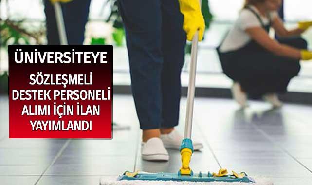 Gümüşhane Üniversitesi Sözleşmeli Destek (Temizlik) Personeli Alım Duyurusu