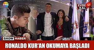 Cristiano Ronaldo Karantinada Kur'an-ı Kerim Okuyor