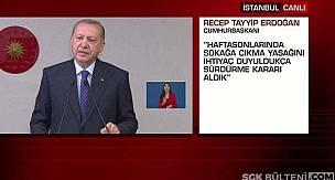 Cumhurbaşkanı Erdoğan'dan Süleyman Soylu, Sokağa Çıkma Yasağı Açıklaması